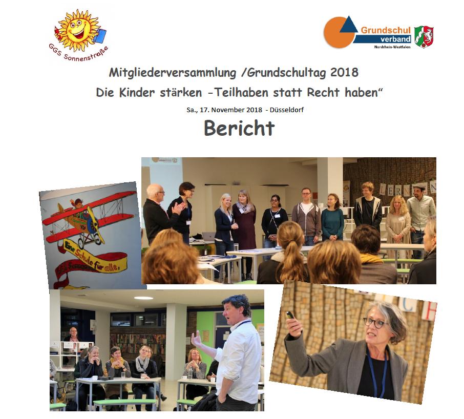Bericht Grundschultag 2018